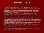 norway eec 7
