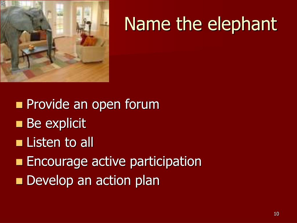 Name the elephant