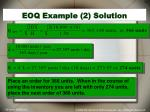 eoq example 2 solution