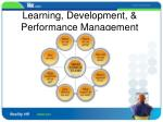 learning development performance management