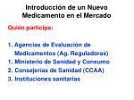 introducci n de un nuevo medicamento en el mercado