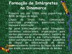 forma o de int rpretes na dinamarca1