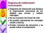 diagrama de colaboraci n comunicaci n
