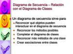 diagrama de secuencia relaci n con el diagrama de clases
