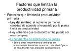 factores que limitan la productividad primaria2