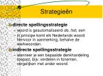 strategie n