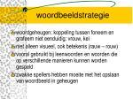 woordbeeldstrategie