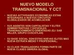 nuevo modelo transnacional y cct