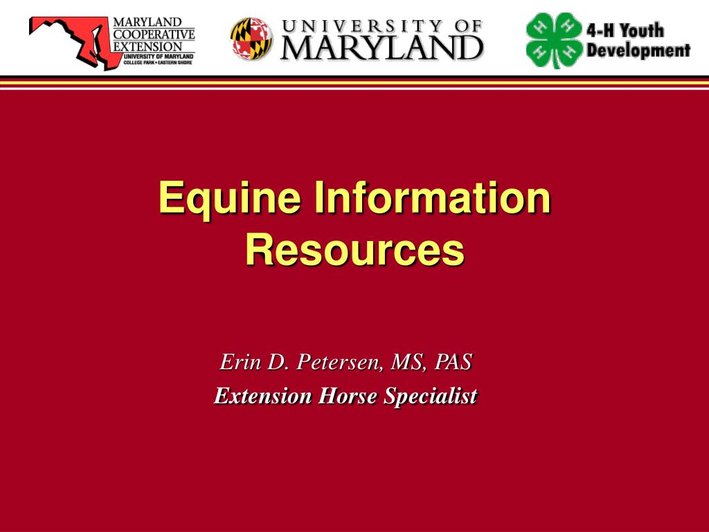 Equine Information Resources