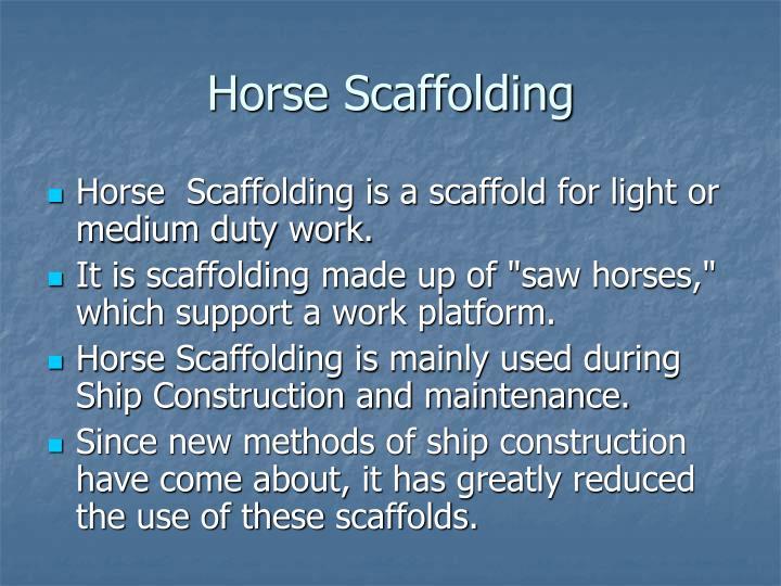 Horse scaffolding2