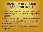 manyet k rezonans g r nt leme 1