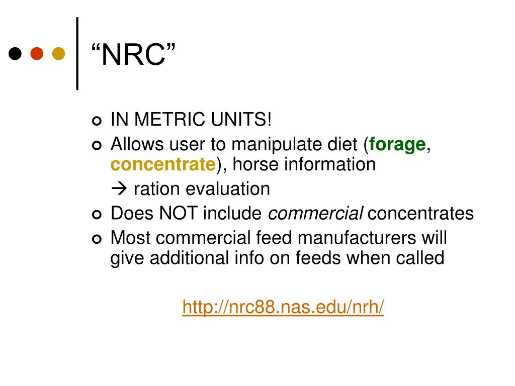 """""""NRC"""""""