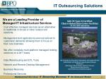 it outsourcing solutions