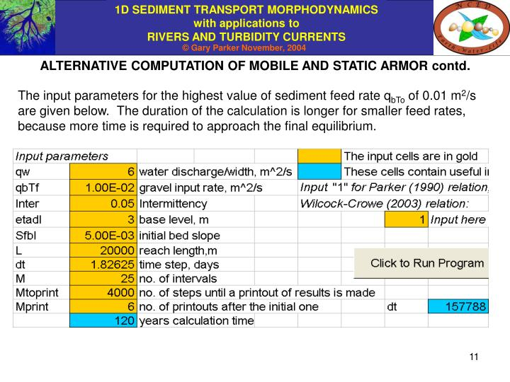 ALTERNATIVE COMPUTATION OF MOBILE AND STATIC ARMOR contd.