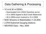 data gathering processing