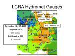 lcra hydromet gauges