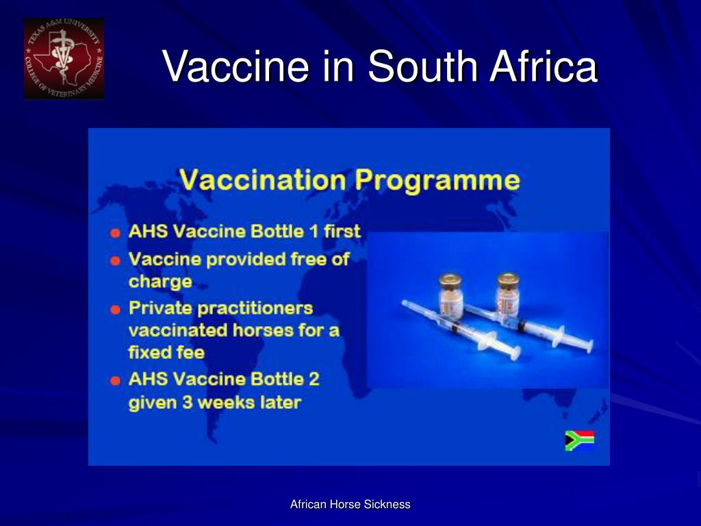 Vaccine in South Africa