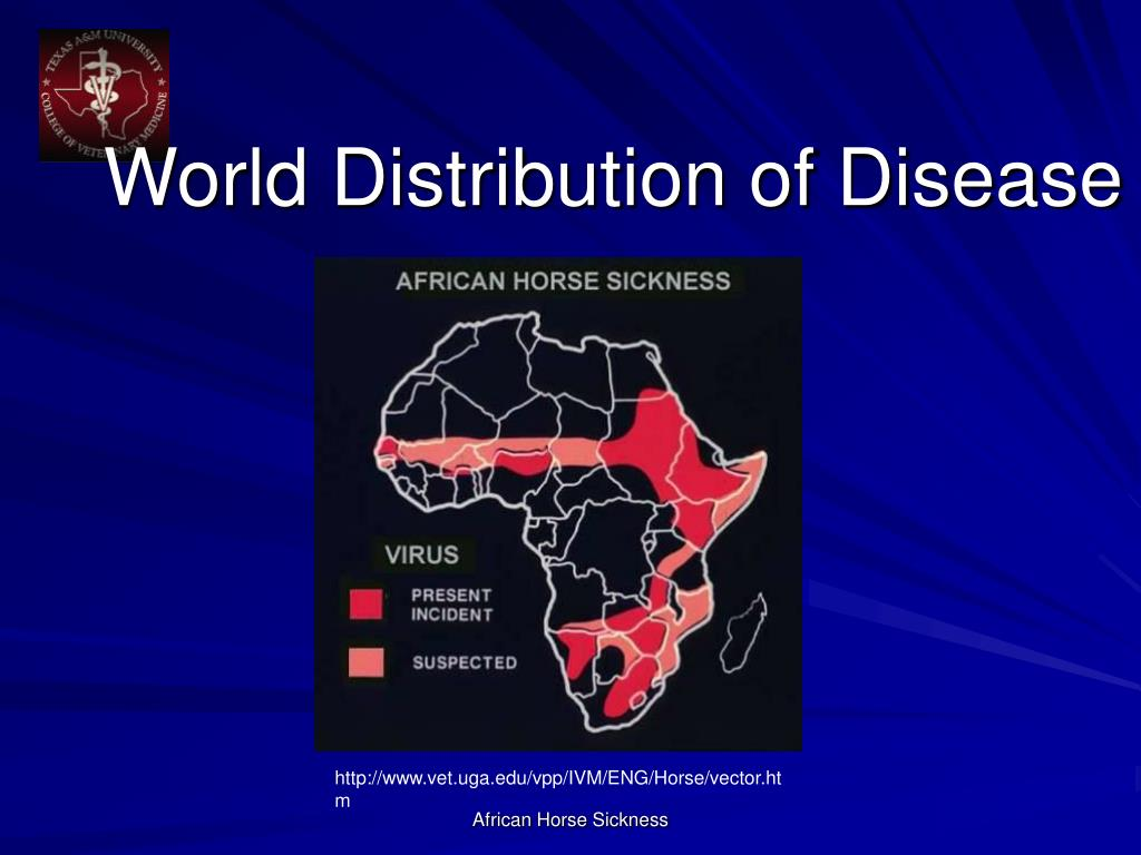 World Distribution of Disease