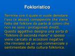 fokloristico