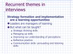 recurrent themes in interviews2