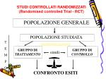 studi controllati randomizzati randomised controlled trial rct1