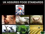 uk assured food standards
