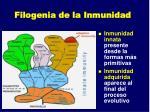 filogenia de la inmunidad