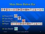 main menu button bar