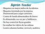 apron feeder