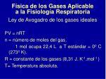 ley de avogadro de los gases ideales