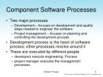 component software processes