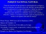 parque nacional natural