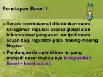 penetapan basel 1