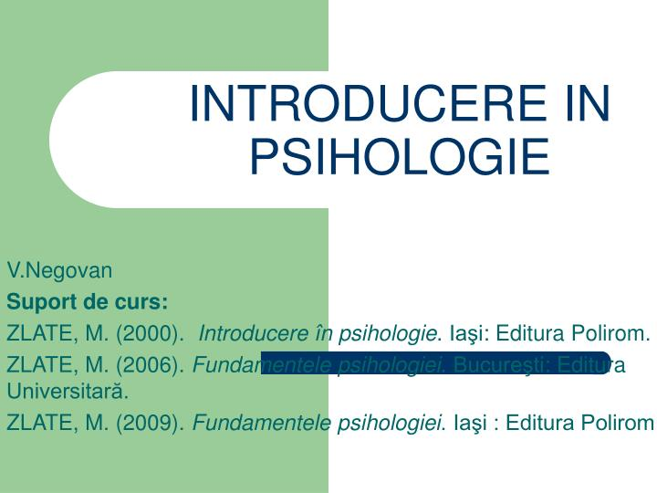 introducere in psihologie n.