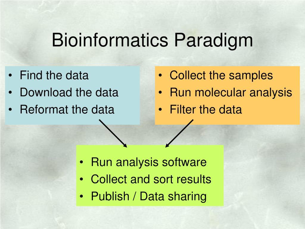 Bioinformatics Paradigm