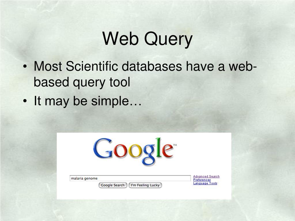 Web Query