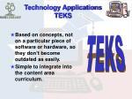 technology applications teks