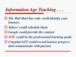 information age teaching1