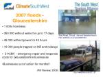 2007 floods gloucestershire