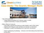case study the scarlet mawgan porth