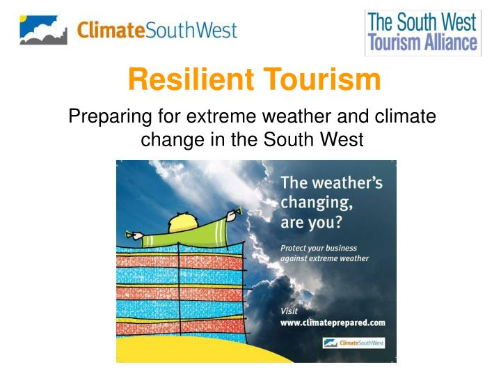 resilient tourism n.