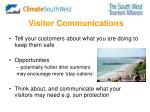 visitor communications