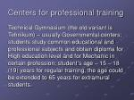 centers for professional training1