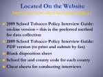 located on the website http www mc uky edu tobaccopolicy