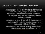 proyecto china shangh i y hangzhou