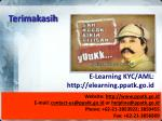 e learning kyc aml http elearning ppatk go id
