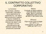 il contratto collettivo corporativo