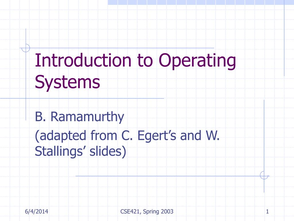 Operating Systems: An Introduction