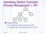 operating system concepts process management ipc