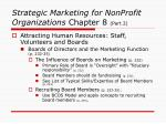 strategic marketing for nonprofit organizations chapter 8 part 24